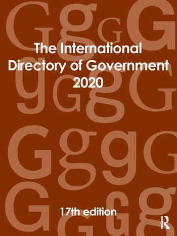 The International Directory of Government 2020 book cover