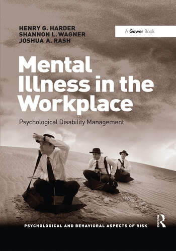 Mental Illness in the Workplace Psychological Disability Management book cover
