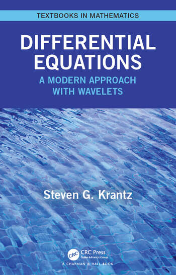 Differential Equations A Modern Approach with Wavelets book cover