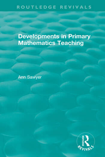 Developments in Primary Mathematics Teaching book cover