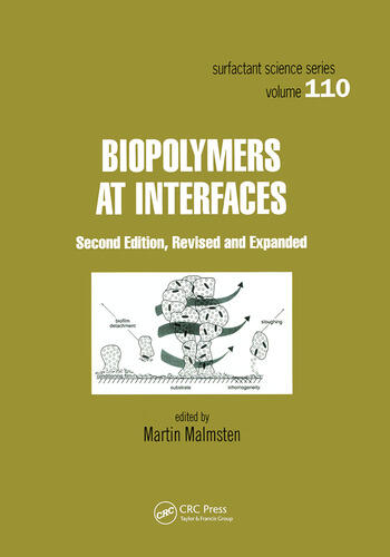Biopolymers at Interfaces book cover