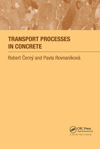Transport Processes in Concrete book cover