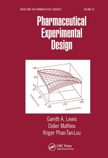 Pharmaceutical Experimental Design book cover
