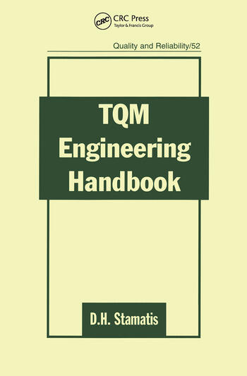 TQM Engineering Handbook book cover