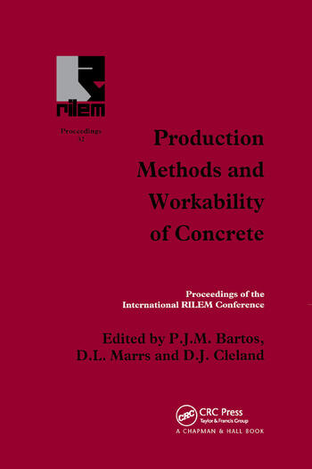Production Methods and Workability of Concrete book cover