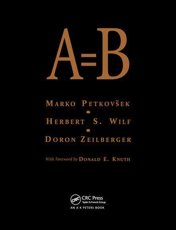 A = B book cover