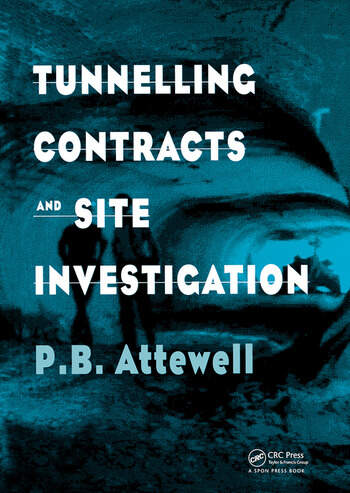 Tunnelling Contracts and Site Investigation book cover
