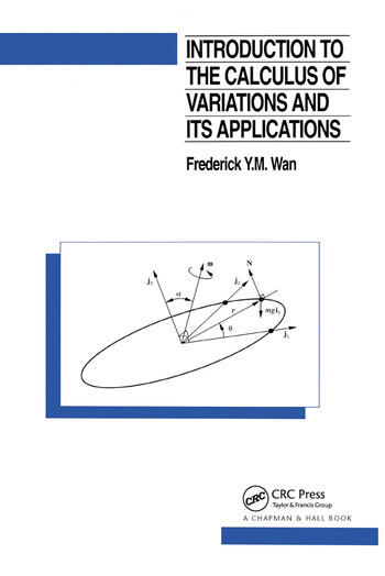 Introduction To The Calculus of Variations And Its Applications book cover
