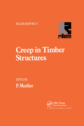 Creep in Timber Structures book cover