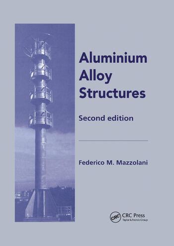 Aluminium Alloy Structures book cover