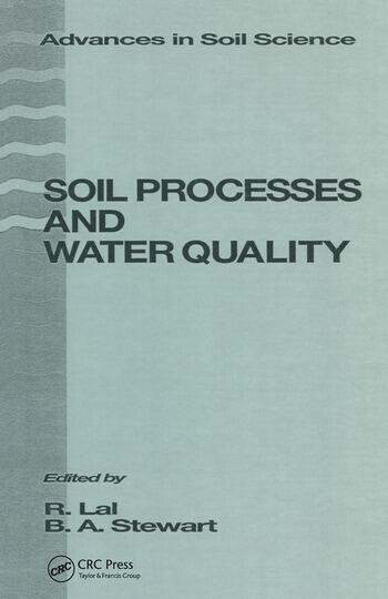 Soil Processes and Water Quality book cover