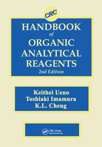 CRC Handbook of Organic Analytical Reagents book cover