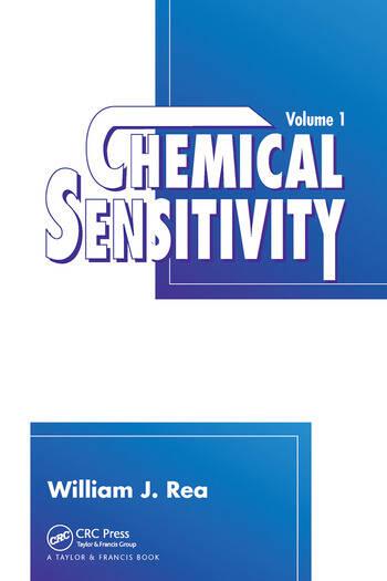 Chemical Sensitivity, Volume I book cover