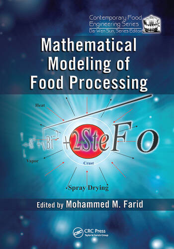 Mathematical Modeling of Food Processing book cover