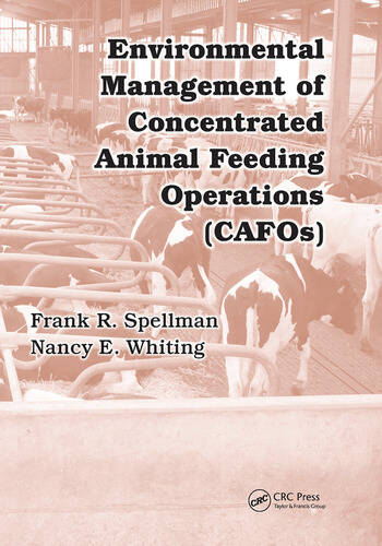 Environmental Management of Concentrated Animal Feeding Operations (CAFOs) book cover