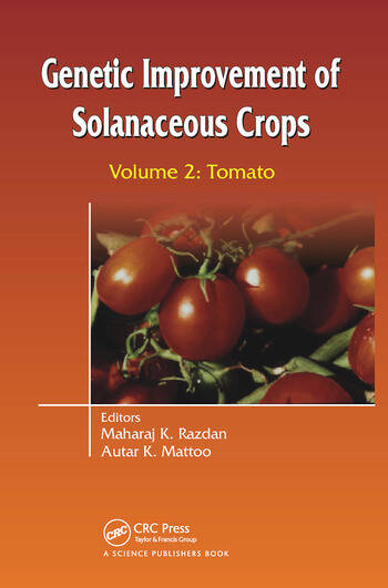 Genetic Improvement of Solanaceous Crops Volume 2 Tomato book cover
