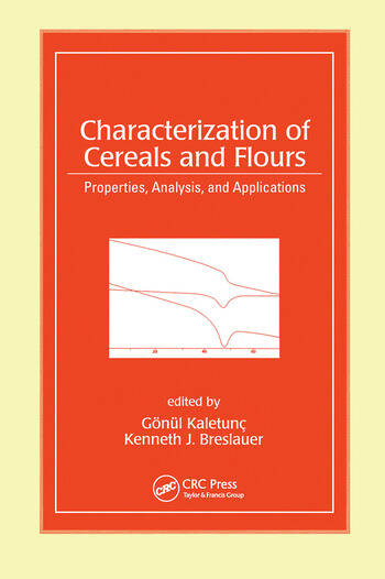 Characterization of Cereals and Flours Properties, Analysis And Applications book cover