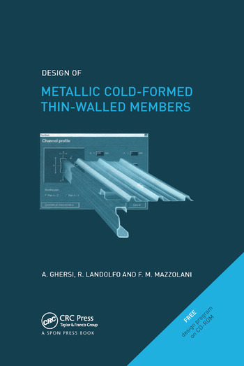 Design of Metallic Cold-Formed Thin-Walled Members book cover