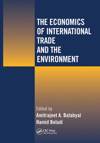 The Economics of International Trade and the Environment book cover