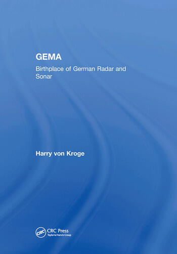 GEMA Birthplace of German Radar and Sonar book cover