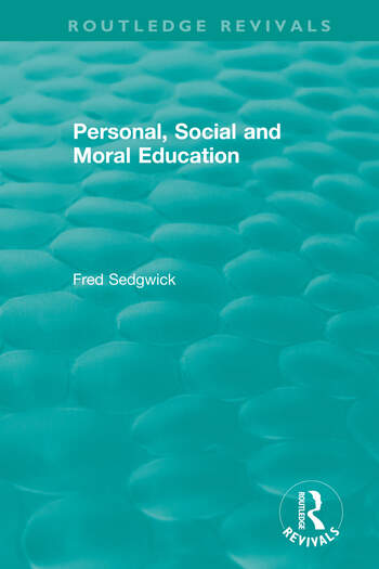 Personal, Social and Moral Education book cover