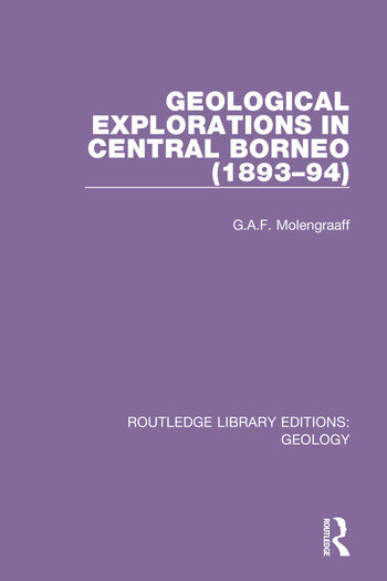 Geological Explorations in Central Borneo (1893-94) book cover