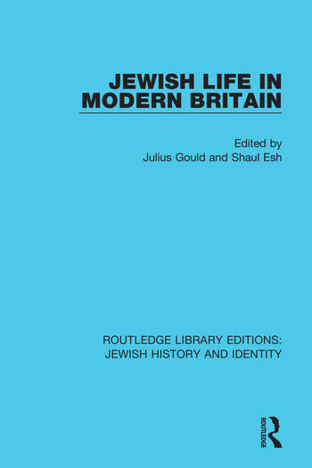 Jewish Life in Modern Britain book cover