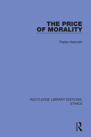 The Price of Morality book cover