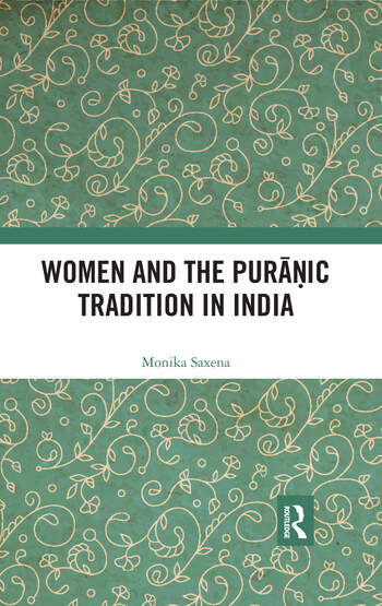 Women and the Puranic Tradition in India book cover