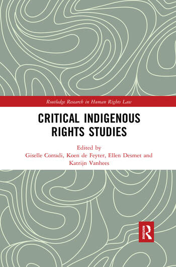 Critical Indigenous Rights Studies book cover