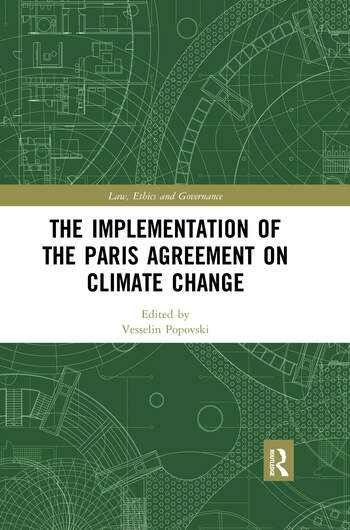 The Implementation of the Paris Agreement on Climate Change book cover