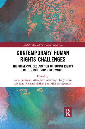 Contemporary Human Rights Challenges The Universal Declaration of Human Rights and its Continuing Relevance book cover