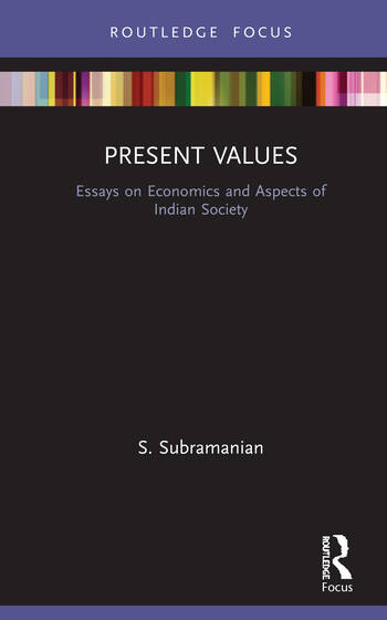 Present Values Essays on Economics and Aspects of Indian Society book cover