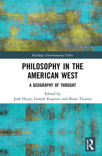 Philosophy in the American West A Geography of Thought book cover