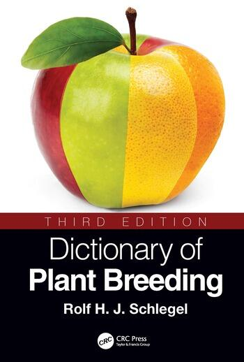 Dictionary of Plant Breeding book cover