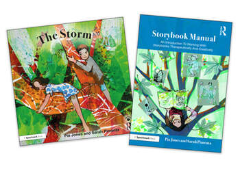 The Storm and Storybook Manual For Children Growing Through Parents' Separation book cover