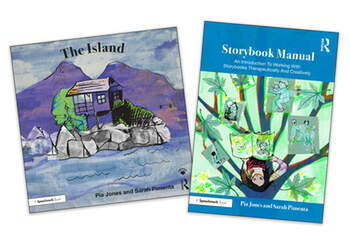 The Island and Storybook Manual For Children With a Parent Living With Depression book cover