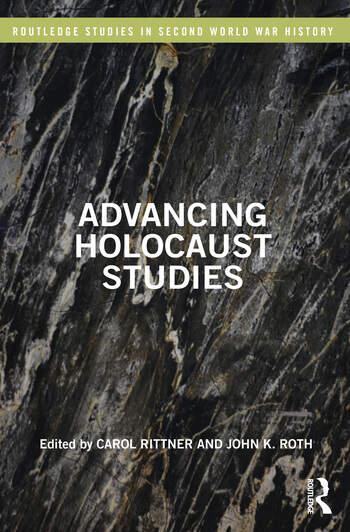 Advancing Holocaust Studies book cover