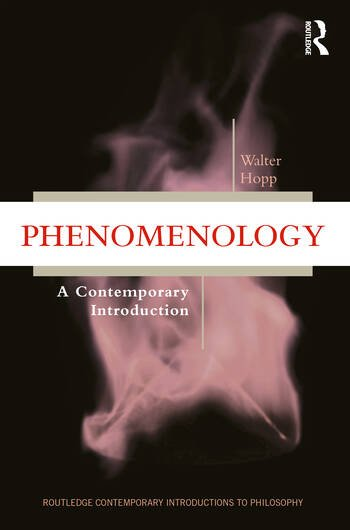Phenomenology A Contemporary Introduction book cover