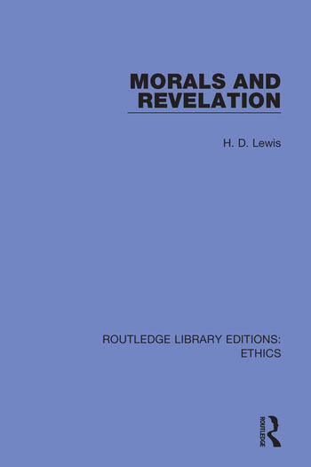 Morals and Revelation book cover