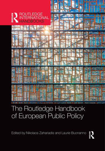 The Routledge Handbook of European Public Policy book cover