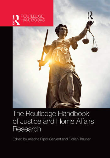The Routledge Handbook of Justice and Home Affairs Research book cover