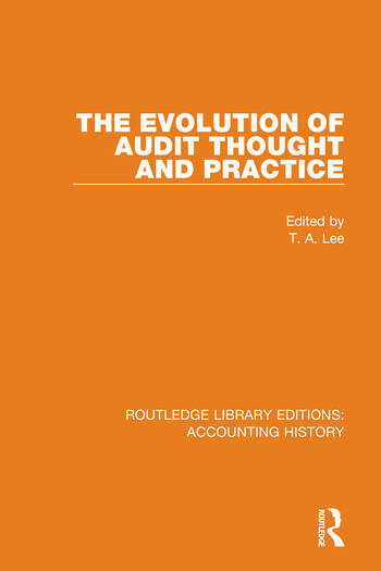 The Evolution of Audit Thought and Practice book cover
