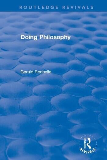 Doing Philosophy book cover