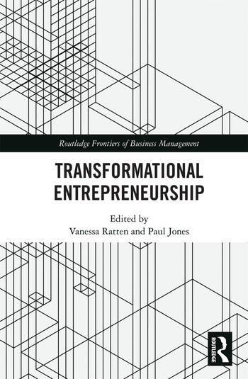 Transformational Entrepreneurship book cover