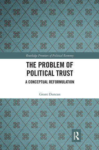 The Problem of Political Trust A Conceptual Reformulation book cover