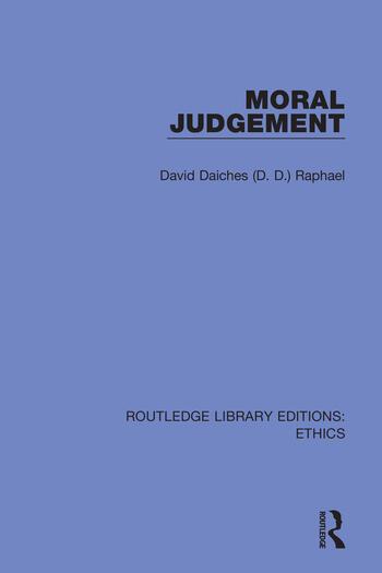 Moral Judgement book cover