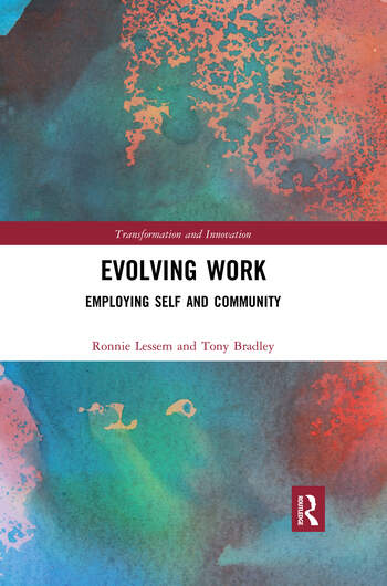 Evolving Work Employing Self and Community book cover