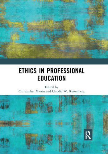 Ethics in Professional Education book cover