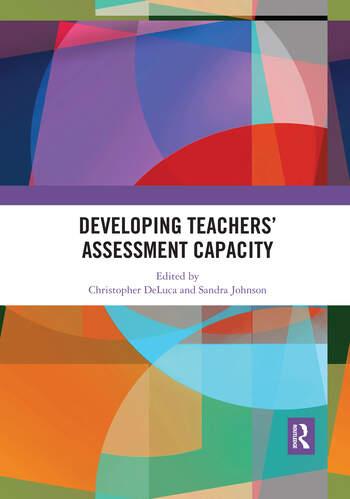 Developing Teachers' Assessment Capacity book cover